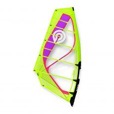 2020 Goya Mark Pro Windsurfing Sail Yellow Fuchsia Overall View