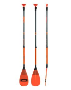 Jobe Fibreglass SUP Paddle Orange 3 Piece | Robin Hood Watersports