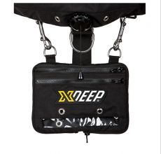 XDEEP Expandable Cargo Pouch clipped in place