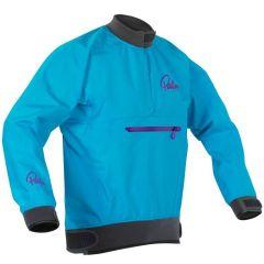 Palm Vector Women's Jacket Aqua