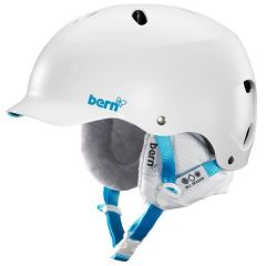 Bern Lenox Snow Helmet Satin White