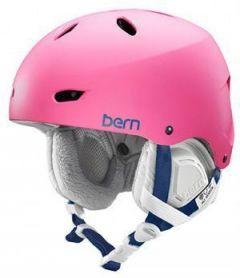 Bern Brighton EPS Snow Helmet Pink