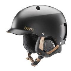 Bern Lenox Snow Helmet Black