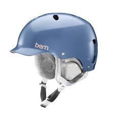 Bern Lenox EPS Snow Helmet Satin Indigo 2018