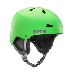 Bern Macon Team EPS Snow Helmet Green