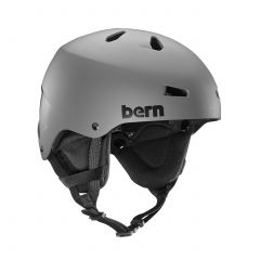 Bern Macon Team EPS Snow Helmet Grey 2018