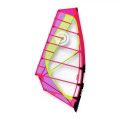 2020 Goya Mark X Windsurf Sail Fuchsia Yellow Overall Image