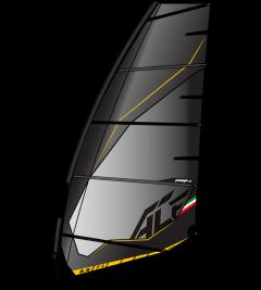 Point 7 ACF windsurf sail black | Robin Hood Watersports