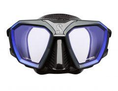 Scubapro D-Mask Blue with Black Skirt