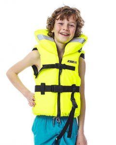 2022 Jobe Kids Comfort Boating Vest Yellow