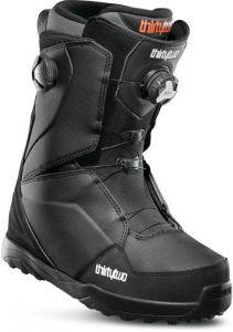 32 Lashed Double Boa Boots 2020 Black