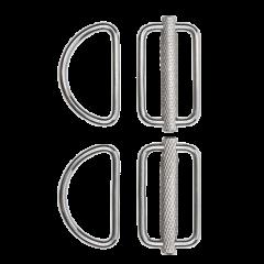 XDeep Slideable D-Ring Kit