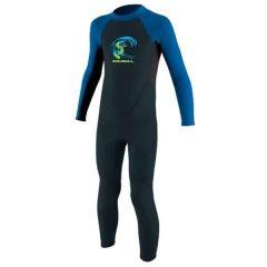 O'Neill Toddler Reactor-2 2mm Back Zip Full Wetsuit Boys Slate/Ltaqua/Ocean