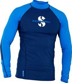 scubapro t-flex mens long sleeve Rash Guard aegean