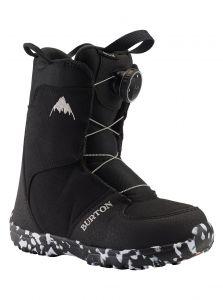 Kids Burton Grom BOA Boots Black 2021
