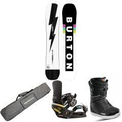 Burton Custom Camber Snowboard Package | Robin Hood Watersports