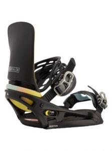 Burton Men's Cartel X EST Snowboard Binding 2021 Black/Multi   Robin Hood Watersports