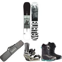 Burton Process Camber Snowboard Package | Robin Hood Watersports