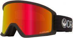 Dragon DX3 OTG Goggles Black/Red + Amber Bonus 2020