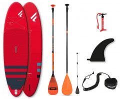 Fanatic Fly Air Inflatable SUP Package Red 2021 | Robin Hood Watersports