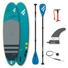 Fanatic Fly Air Premium Package showing contents with pure 3pc paddle