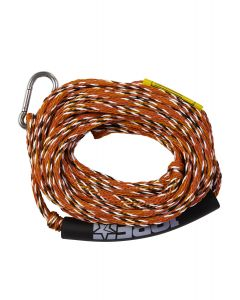 Jobe Tube Rope 2 Person Overall View Red & Blue