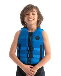 Jobe Neoprene Life Vest Kids Blue   Robin Hood Watersports