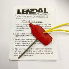 Lendal Padlock Paddle Key | Robin Hood Watersports