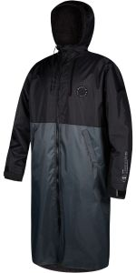 Mystic Poncho Deluxe Explore Changing Robe Black FW21 | Robin Hood Watersports