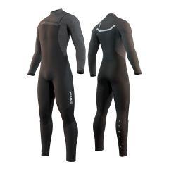 Mystic Majestic Fullsuit 3/2mm FZ Wetsuit Black