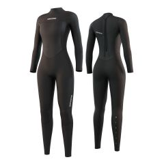Mystic Star 3/2 Women's Full Wetsuit Black | Robin Hood Watersports