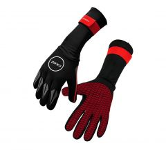 Zone3 Neoprene Swim Gloves Black/Red | Robin Hood Watersports