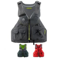 NRS Chinook High Back Fishing PFD All Colours | Robin Hood Watersports