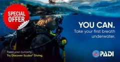 PADI Discover Scuba Diving Special