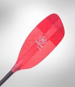 Werner Powerhouse Straight Glass Kayak Paddle Red Blade | Robin Hood Watersports