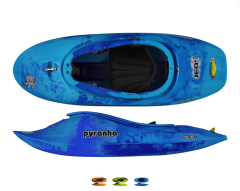 Pyranha Jed Stout 2 Kayak All Colours | Robin Hood Watersports