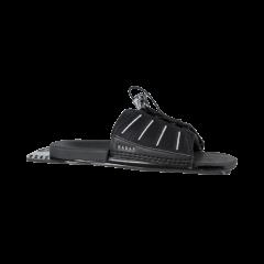 Radar Adjustable Rear Toe Plate Feather Frame Black 2022  | Robin Hood Watersports