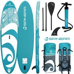 Spinera Let's Paddle 11ft2 Inflatable Paddle Board Package | Robin Hood Watersports