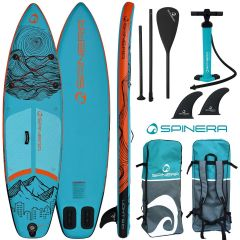 Spinera ULT 9ft10 Inflatable Paddle Board Package | Robin Hood Watersports