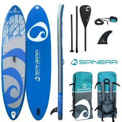 Spinera Lets Paddle 10ft4 Inflatable Paddle Board Package | Robin Hood Watersports
