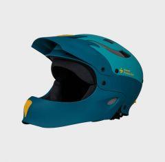 Sweet Protection Rocker Full Face Helmet 2021 Matte Aquamarine
