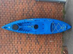 Tootega Kinetic 100 Hydrolite Sit On Top Kayak Blue | Factory Blemish | Robin Hood Watersports