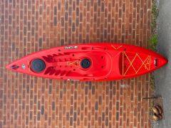 Tootega Kinetic 100 Hydrolite Sit On Top Kayak Red | Factory Blemish | Robin Hood Watersports