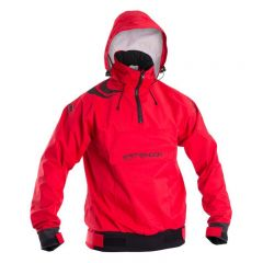 Typhoon Sirocco Hooded Jacket Front View with hood up