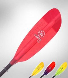 Werner Camano Straight Glass 2 Piece Kayak Paddle All Colours | Robin Hood Watersports
