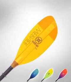 Werner Shuna Straight Glass 2 Piece Kayak Paddle All Colours | Robin Hood Watersports