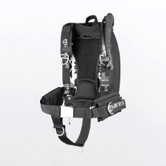 Mares XR-REC Silver Single Backmount System