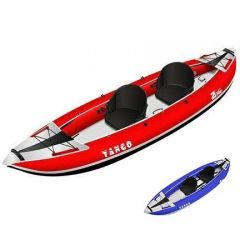 Z Pro Tango 200 2 Person Inflatable Kayak Red And Blue | Robin Hood Watersports