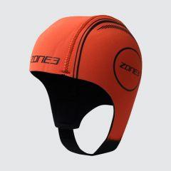 Zone3 Neoprene Swim Cap High Vis Orange | Robin Hood Watersports