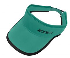 Zone3 Coolmax Visor Charcoal/Red | Robin Hood Watersports